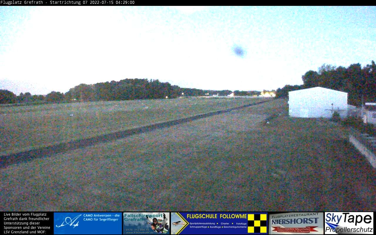 Web camera Vliegveld Grefrath